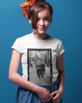 Camiseta Envelhecemos Juntos Infantil
