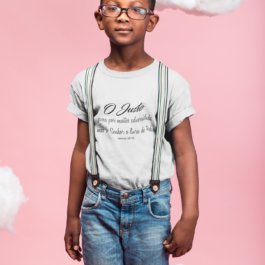 Camiseta O Justo infantil