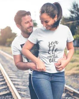 Camiseta Envelhecemos Juntos