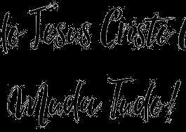 Camiseta Quando Jesus Chega Infantil