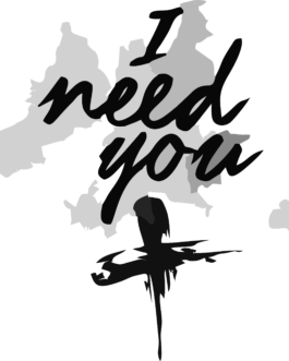 Camiseta I Need You