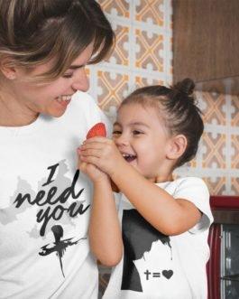 Camiseta a Sombra de Cristo Infantil