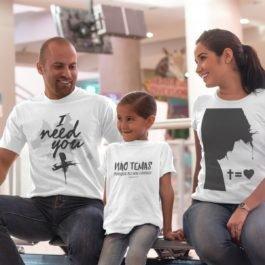 Camiseta Não Temas Infantil